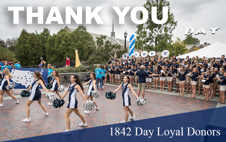 1842 Day Loyal Donors